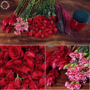 70 CÀNH HOA LẺ: hoa hồng, hạnh phúc, cẩm chướng...