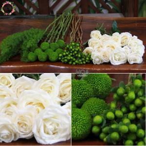 35 CÀNH HOA LẺ: hoa hồng Đà Lạt, bingbong,...