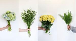 75 CÀNH HOA LẺ: hoa hồng, đuôi chồn, cẩm tú cầu...