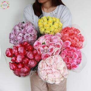 HOA LẺ: 100 hoa hồng Đà Lạt