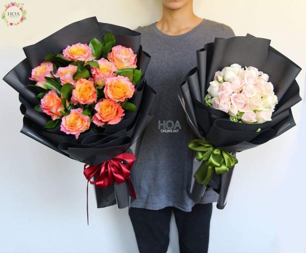 Tham khảo kích thước hoa hồng Premium, hồng Ecuador